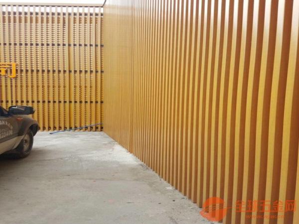 东莞木纹铝方通隔断厂家专业品质服务一流