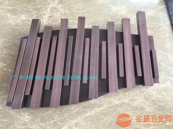 中山木纹铝方通隔断价格是多少