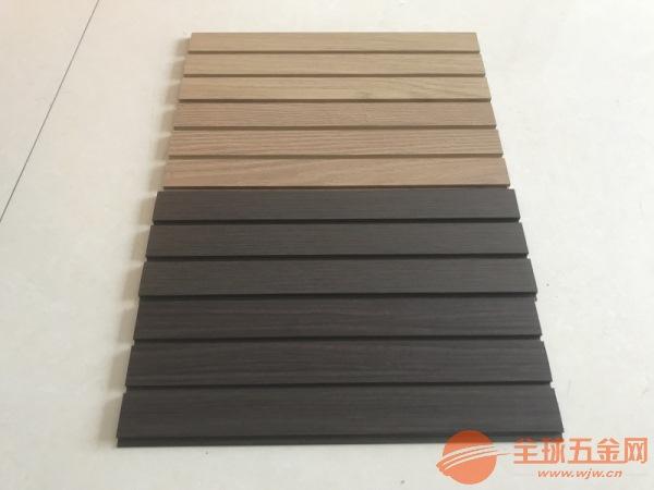 清远木纹铝方通隔断专业定制及时交货