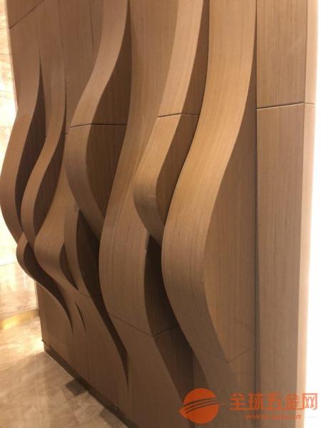 清远木纹铝方通隔断厂家质量保障可定做