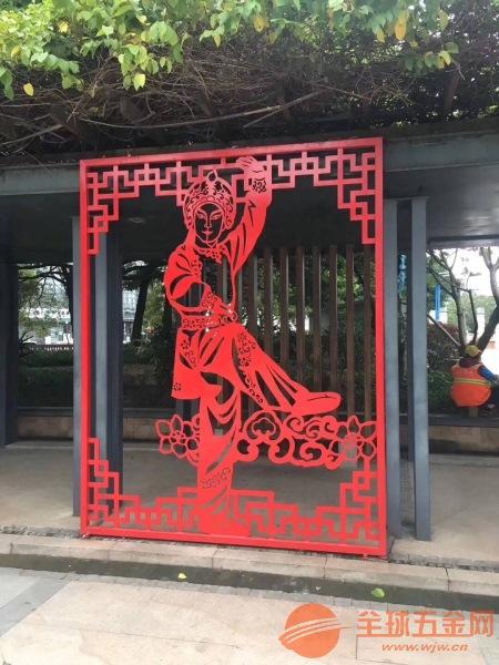 道路景观装饰中国风镂空铝单板欢迎来图定制