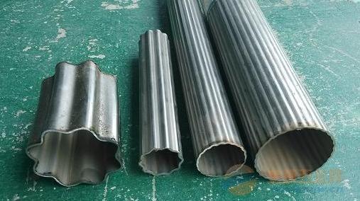 广东热销304不锈钢梅花管 304不锈钢直纹管 直纹管镜面梅花管