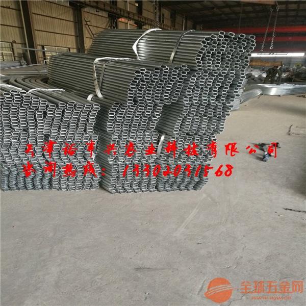 安顺地区30*80椭圆包塑大棚管厂家直销