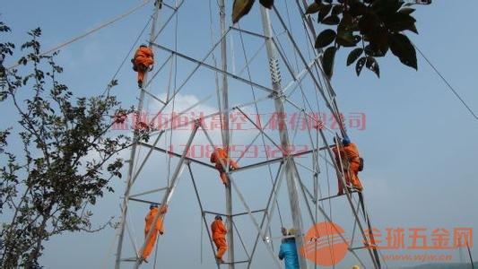 铁塔安装拆除除锈工程