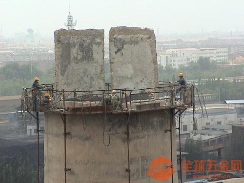 新余烟囱拆除专业施工 值得信赖-恒达高空