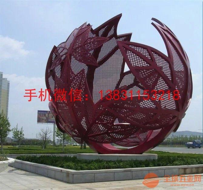 广场景观雕塑 湖北不锈钢雕塑厂家   枫叶是枫树的叶子,一般为掌状五图片