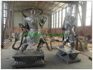 润龙雕塑公司生产车间