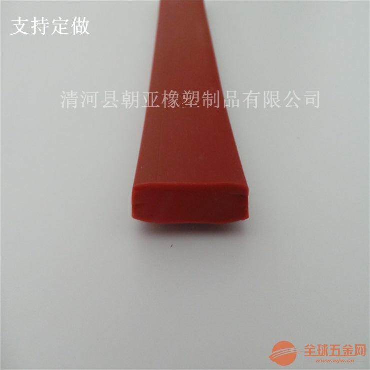 矩形硅胶发泡条 收尘盖板密封条
