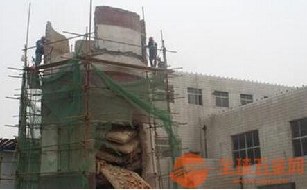 阳城县窑厂烟囱拆除