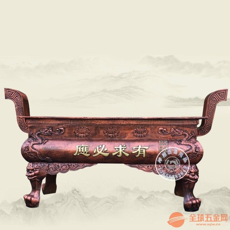 山东长方形香炉定制 淄博寺院铸铁香炉报价
