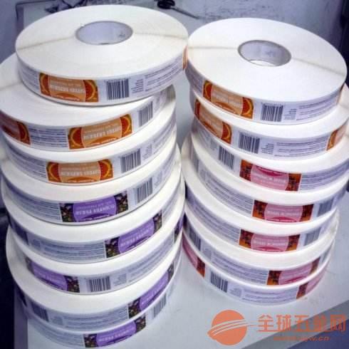 苏州不干胶印刷标签