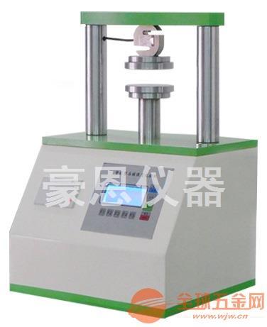 微电脑环压边压试验机