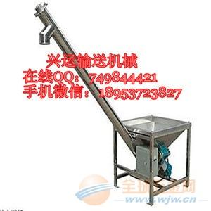 多功能螺旋输送机 219管径倾斜式螺杆上料机