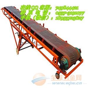 爬坡防滑皮带输送机价格 圆管固定式倾角传送机