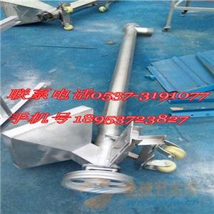 益阳热销厂家定制316L螺旋上料机