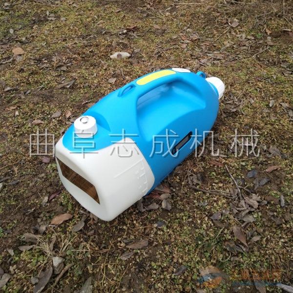 志成蓄电池喷雾机 手提式消毒机图片