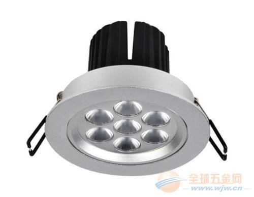 LED灯饰铝型材批发 灯具铝型材厂家 加工LED路灯外壳铝材
