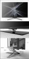 鼎杰专供铝合金电视机底座 加工定制电视机铝边框 电视机铝支架
