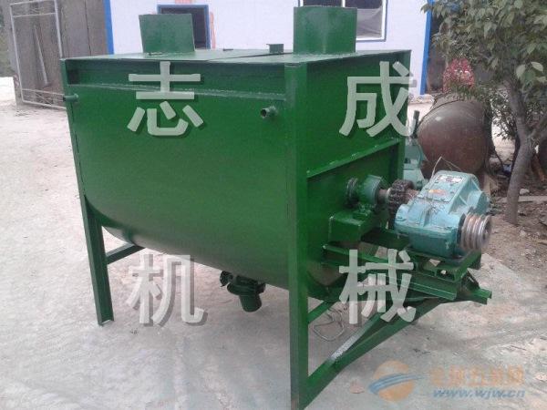 臥式飼料攪拌機2T大型農用拌草機多種型號秸稈攪拌機