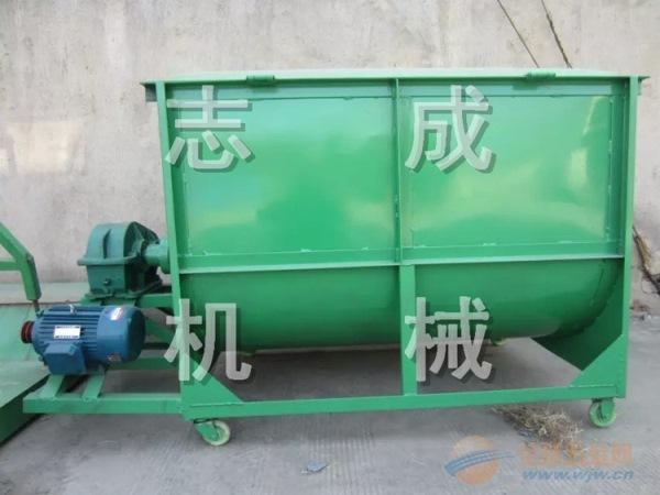 志成熱銷農村飼養戶大豆秸稈攪拌機 大容量飼料攪拌機