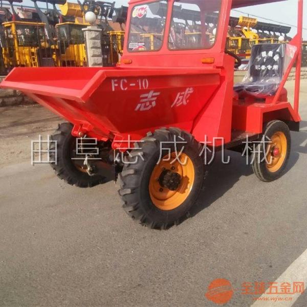 专业生产18马力三轮车 砂石拉料车 工程车
