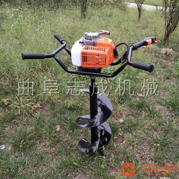 精品熱售手提式整地挖坑機便攜式打窩機多用植樹挖坑機地鉆