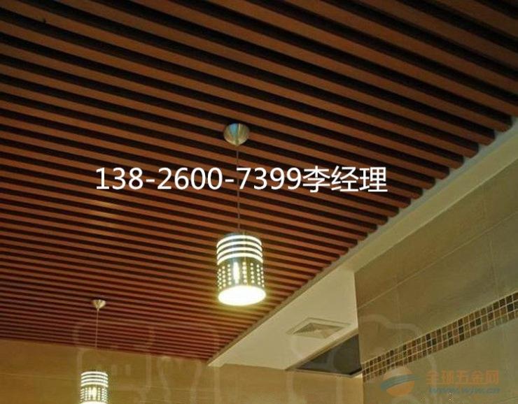 江西型材铝方通吊顶设计方案
