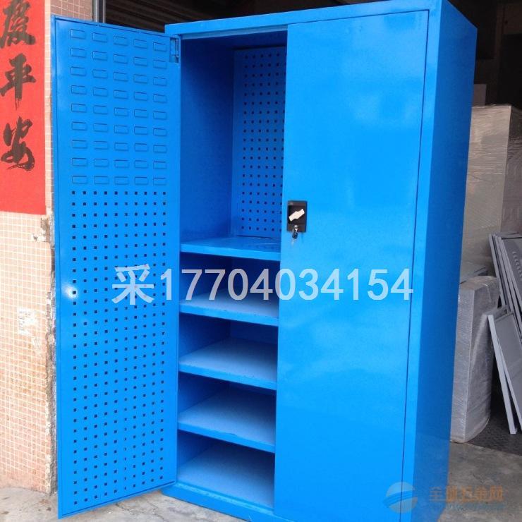 深圳震宇双开门储物柜重型工具柜车间多功能置物柜