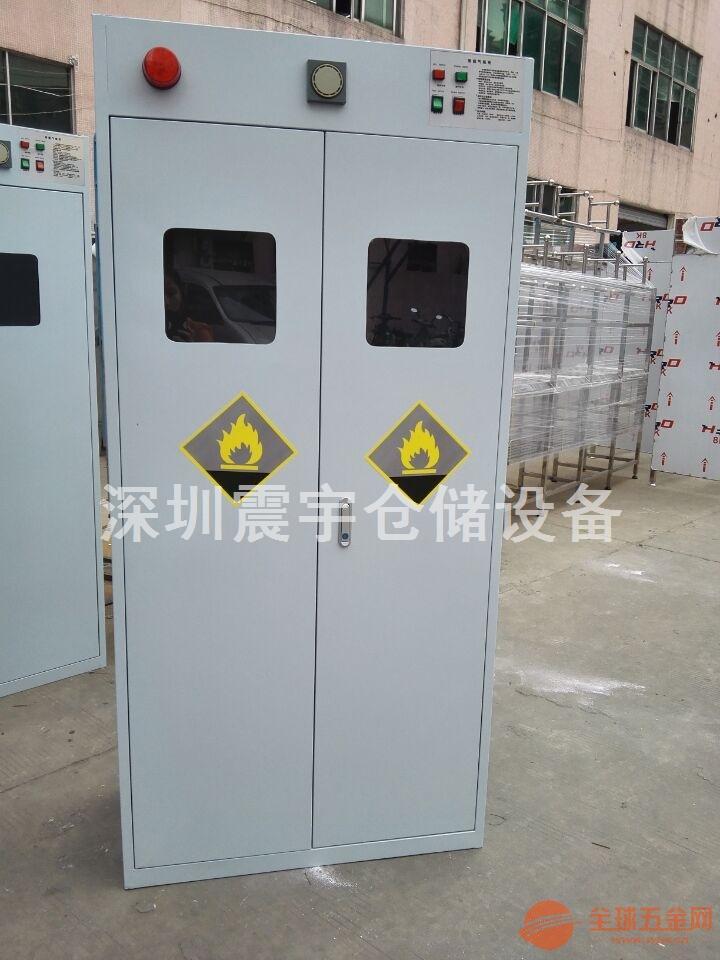 深圳单瓶防爆气瓶柜 实验室专用双气瓶安全柜