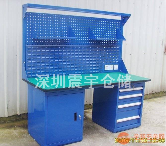 工厂防静电工作台 钳工桌 中型工作台定做