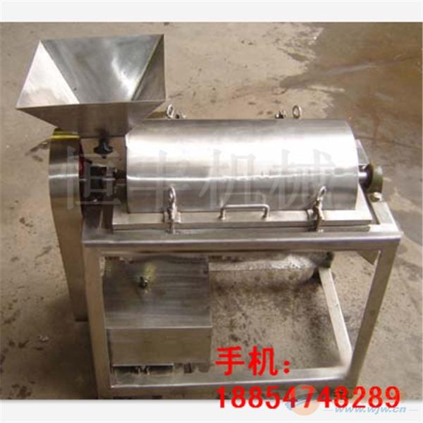 恒丰直销优质小型打浆机价格 新品促销果蔬浆渣分离打浆机