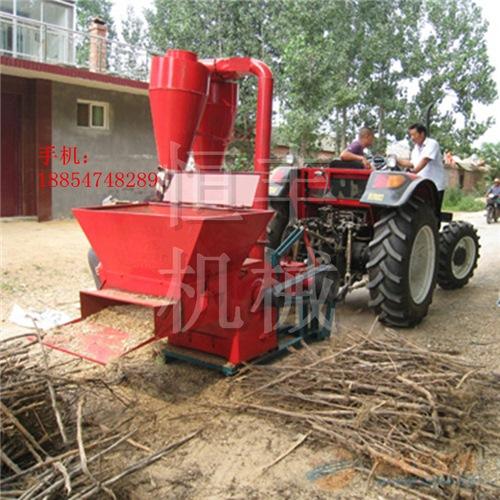 青饲料粉碎机 恒丰牌玉米秸秆粉碎机 大型粉碎机