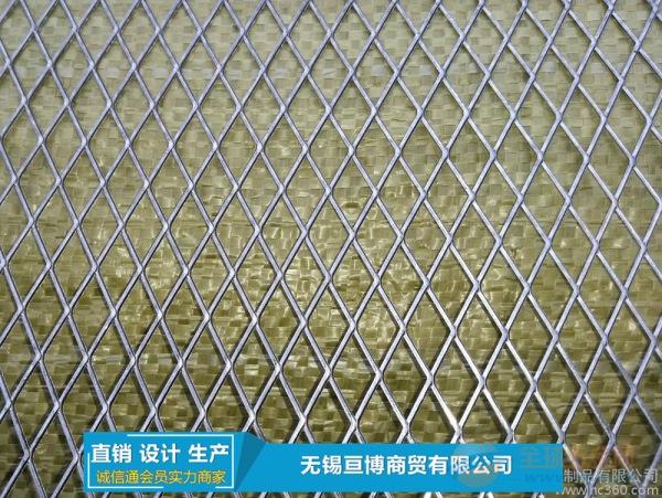 无锡句容浸塑喷塑菱形钢板网