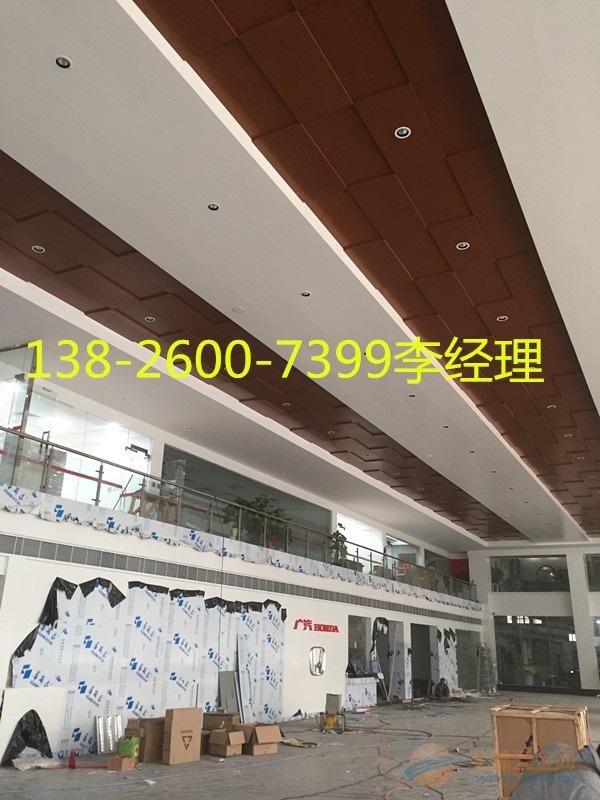 广汽本田4s店木纹铝合金天花板指定供应商