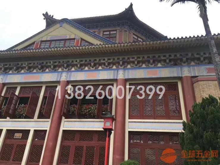 杭州哪里有仿古木纹铝窗花专业供应厂家