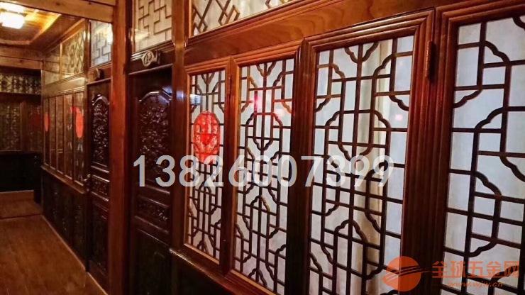 连云港木纹铝质窗花专业生产销售厂家