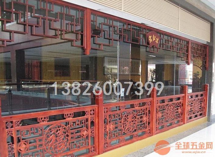 陕西木纹雕刻铝窗花专业订做厂家