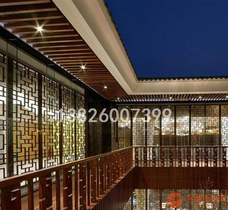 浙江酒店雕花铝板窗花选择哪家订制