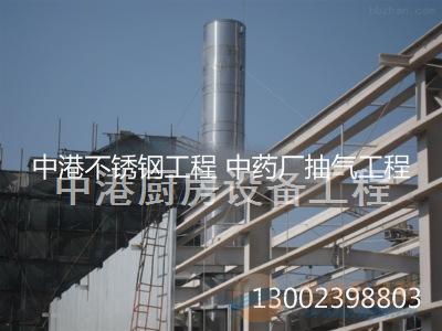 重庆不锈钢抽风管道工程