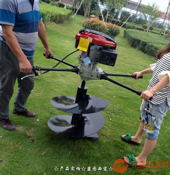 南昌大型后置挖坑设备 园林拖拉机挖坑机视频