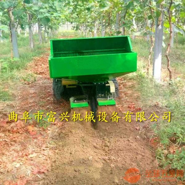 泰州 新款汽油柴油开沟机 果园开沟施肥机