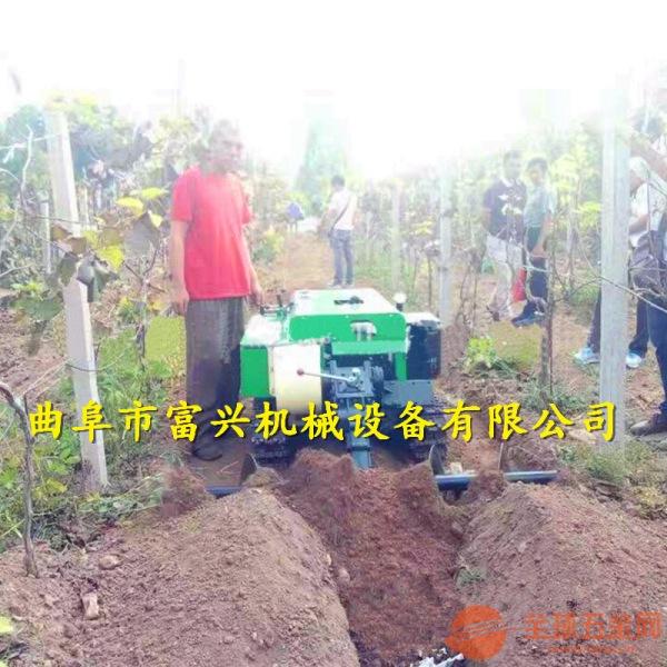 南阳 大姜培土机 新款履带式旋耕除草机