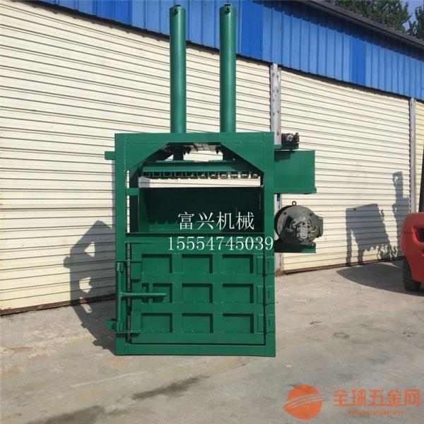 北京 碎岩棉液压打包机 定做易拉罐压块机图片