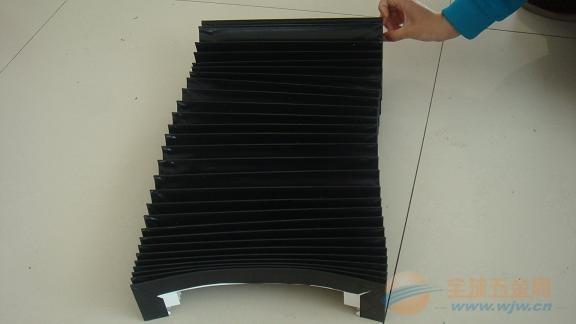激光切横梁风琴式伸缩防护罩定做厂家