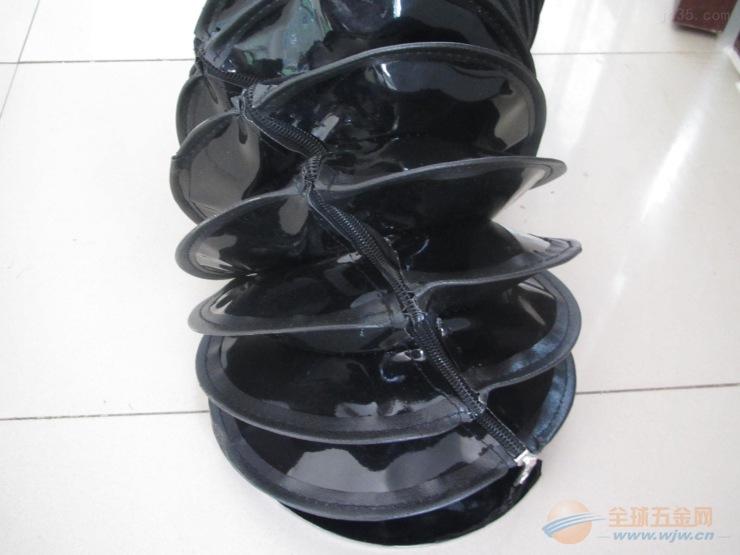 缝合带拉链油缸防护罩工艺