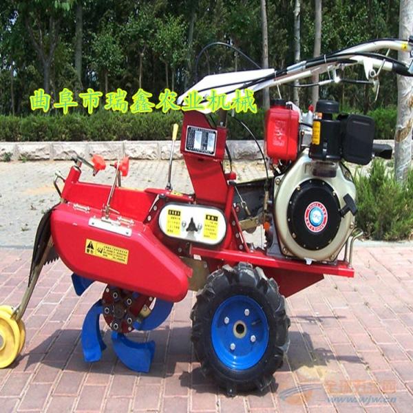 小型果园开沟机 集安柴油大马力旋耕培土机