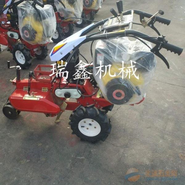 新款小型开沟培土机 辉南县柴油自走式手扶田园管理机