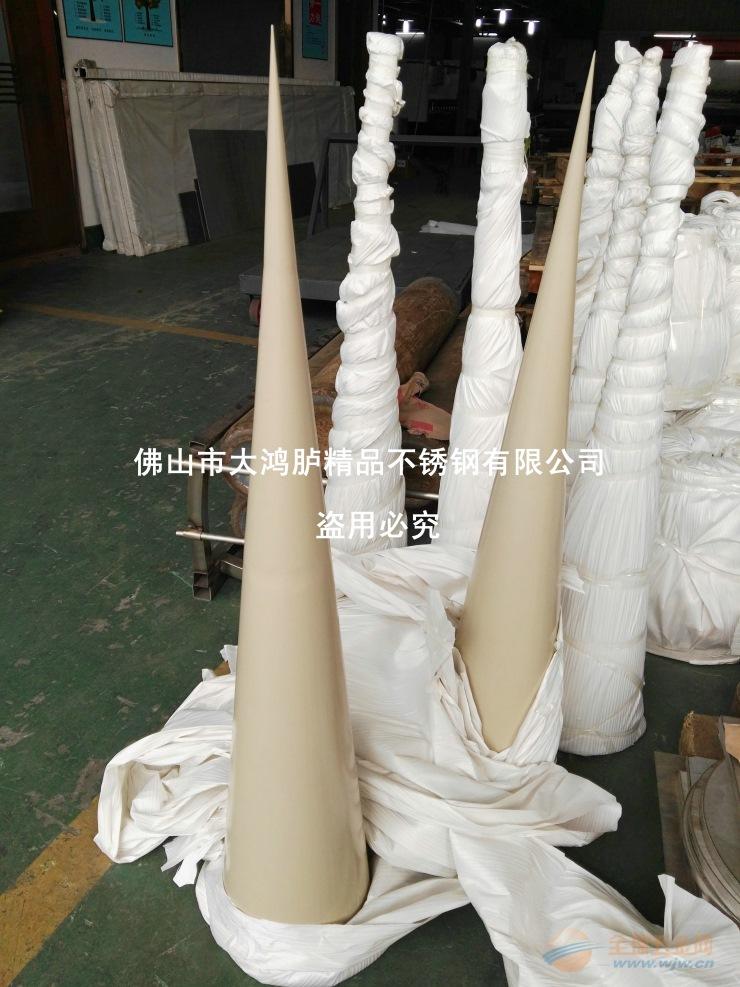氟碳漆不锈钢塔尖 塔尖造型加工