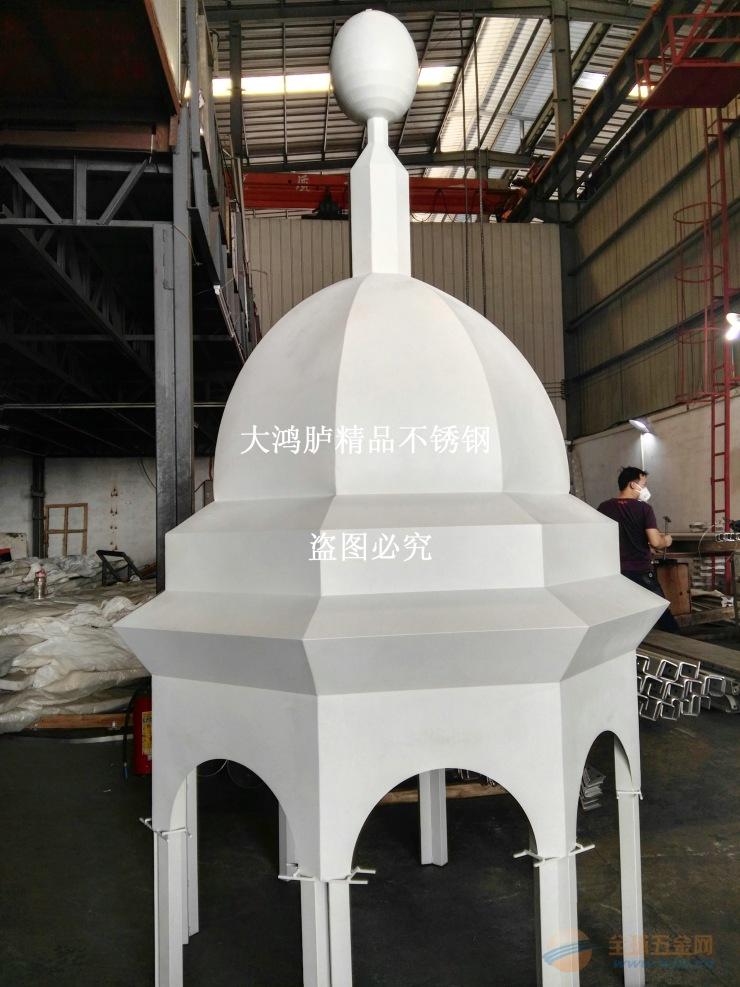 不锈钢宝塔定制厂家 八角亭造型加工
