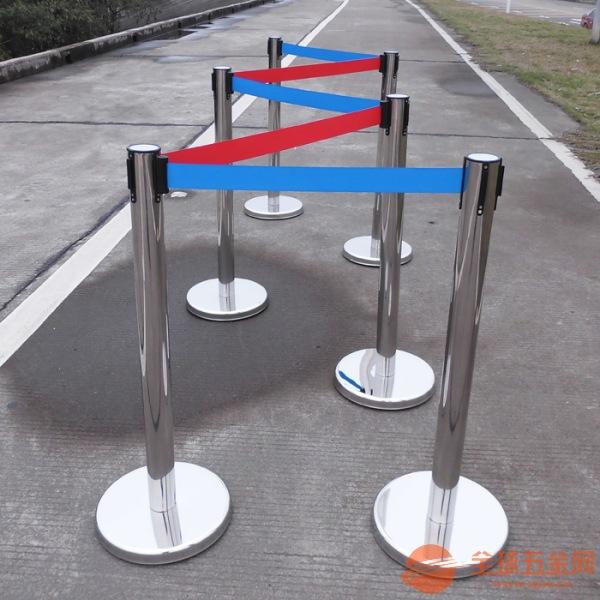 遵义移动一米线栏杆座丝印定做,贵阳伸缩带不锈钢栏杆座批发厂家